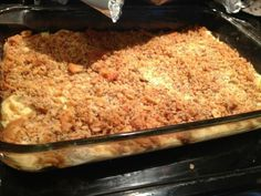 Ritz cracker chicken casserole. Holy smokes it is awesome!!! A true southern casserole.