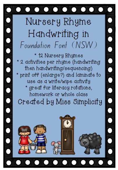 Handwriting and Sequencing