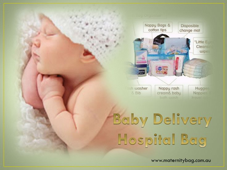 Baby Delivery Hospital Bag with all essential things for welcome new one in family.  #Baby #Delivery #Hospital #Bag