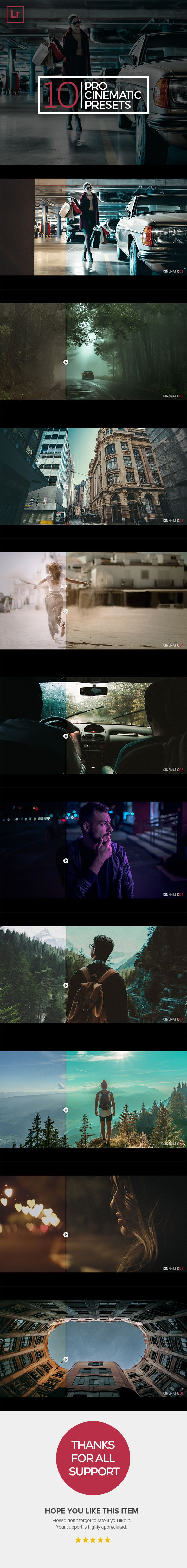 #Pro Cinematic - Cinematic #Lightroom #Presets