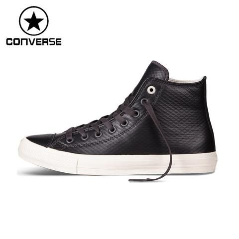 Converse ALL STAR Unisex Leather Skateboarding Shoes Sneakers