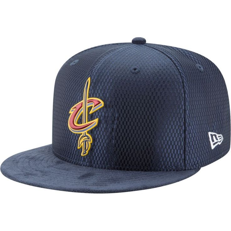 New Era Men's Cleveland Cavaliers On-Court 59Fifty Fitted Hat, Size: 7 1/2, Team