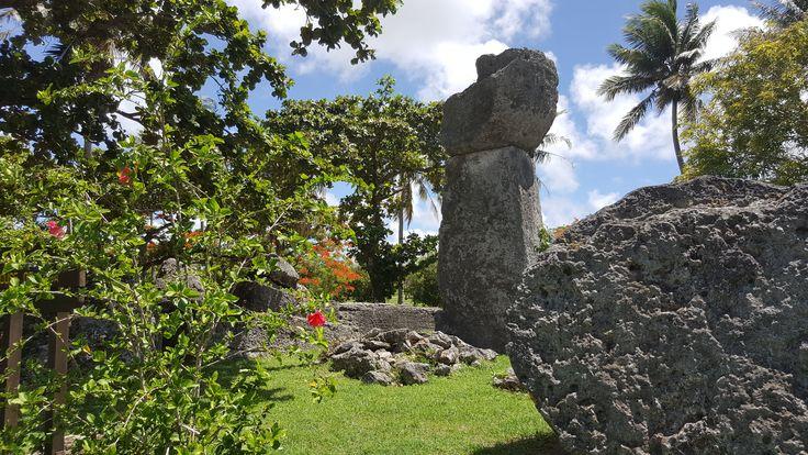 Latte Stones in Tinian