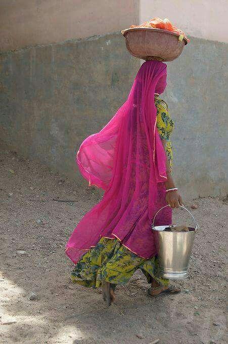 Colores de la India.