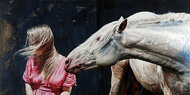 Die Gemälde von Eddie Stevens: Der weibliche Körper im Einklang mit der Natur