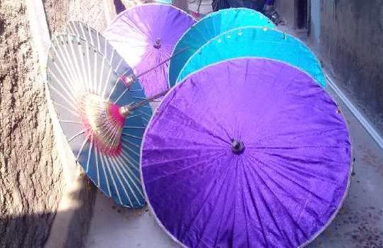 Payung Hias Kertas Juwiring