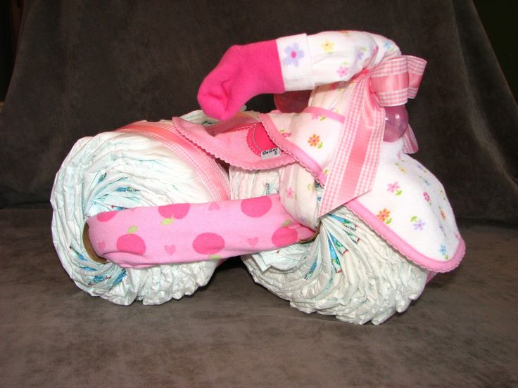 Free Directions For Making Diaper Cakes