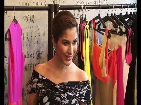 Sophie Choudry at the spring summer collection preview party.