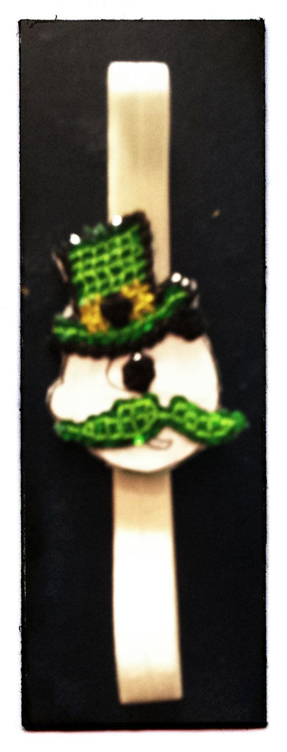 Green sequin natty boh st. patrick's day baltimore by HeadQuase, $15.00