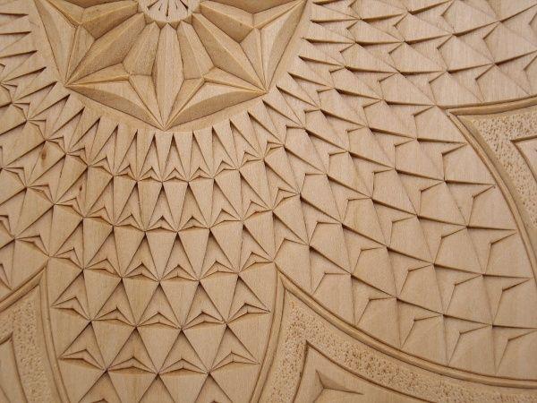 Mejores imágenes de talla geométrica chip carving en