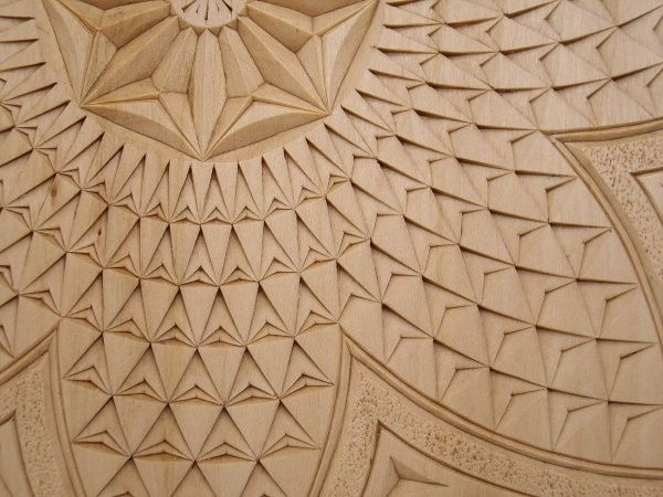 Best images about talla geométrica chip carving on
