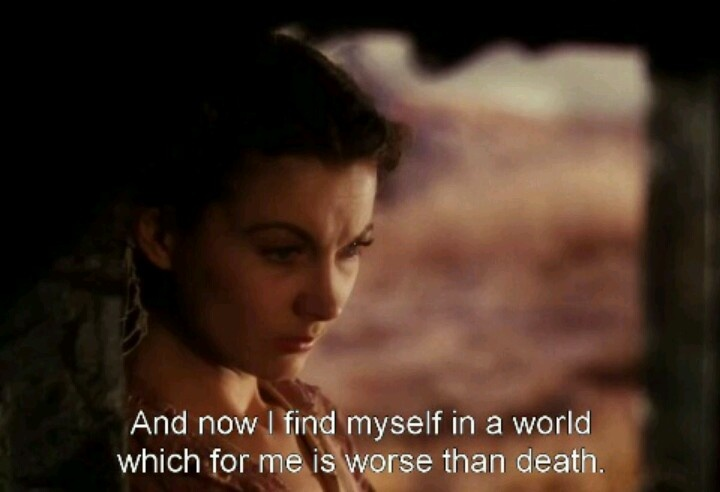 17 best images about gone with the wind quotes on for Who played scarlett o hara in gone with the wind