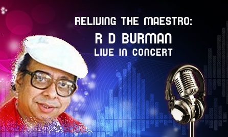 """Pancham Alive """" Reliving The Maestro : R D Burman """" Live in Concert with 4 of his Original Musicians.... www.buzzintown.com/bangalore/event--reliving-maestro-r-d-burman-live-concert/id--684066.html"""