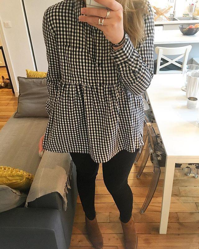Et la petite blouse que j'adore ! Courte devant et plus longue derrière, la coupe parfaite. #ootd blouse et jean #zara #zaraaddict boots #jonak #jonakparis #girl #outfit #outfitoftheday #look #lookdujour #lookoftheday #lookbook #metoday #dailylook #dailyoutfit #fashionblogger #fashion #blogger #paris #mode
