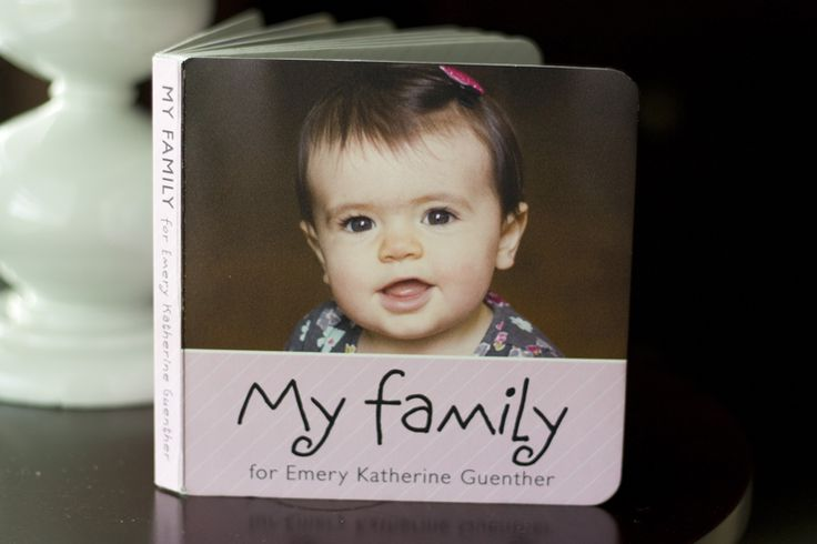 Pint Size Productions, a company that prints board books for you. I am definitely making one for Baby J since all our family is far away!