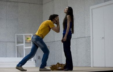 Clôture de l'amour - Pascal Rambert. Théâtre de Vidy, Lsne, oct 2015.