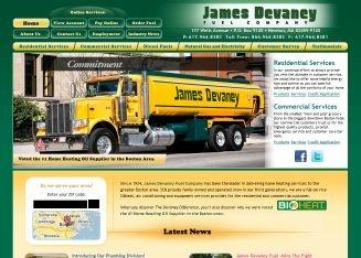 DeVaney Oil Company in Newton
