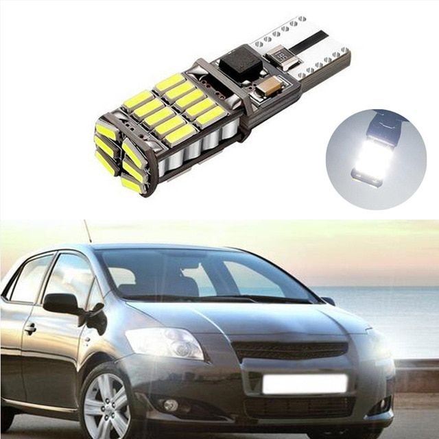 1x T10 Led W5w Car Clearance Light For Toyota Corolla Avensis