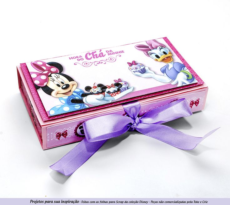 papéis licenciados Disney tema Hora do Cha da Minnie