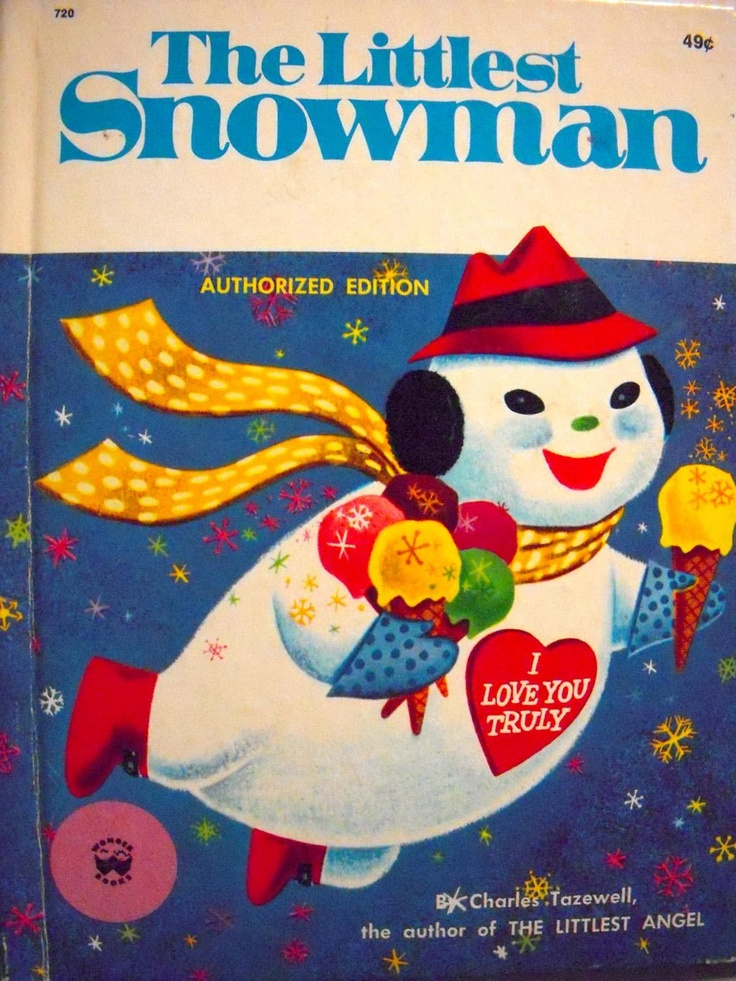 134 best beautiful christmas books images on pinterest christmas the littlest snowman by charles tazewell 1958 fandeluxe Images