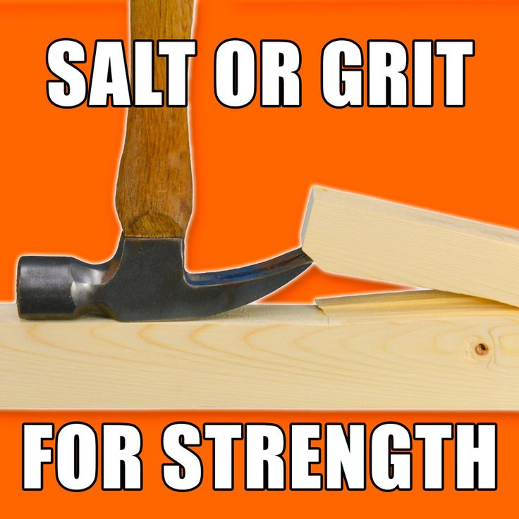 Strength Testing Salt and Grit on Glue Joints! #woodworking #wood