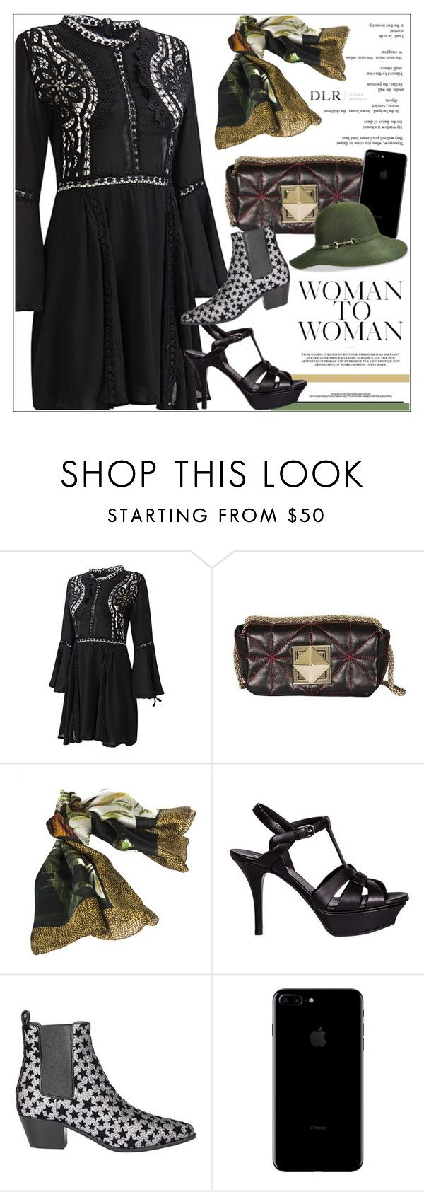 """DLRBOUTIQUE.COM"" by mirachu-1 on Polyvore featuring Sonia Rykiel, Borbonese, Yves Saint Laurent and Betmar"