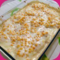 O Filé de Frango com Creme de Milho é uma opção prática e deliciosa para a refeição da sua família. Basta um arroz branco e uma salada verde e o menu estar