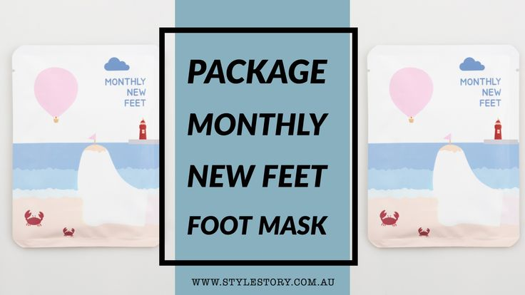 PACKage Monthly New Feet Mask Review