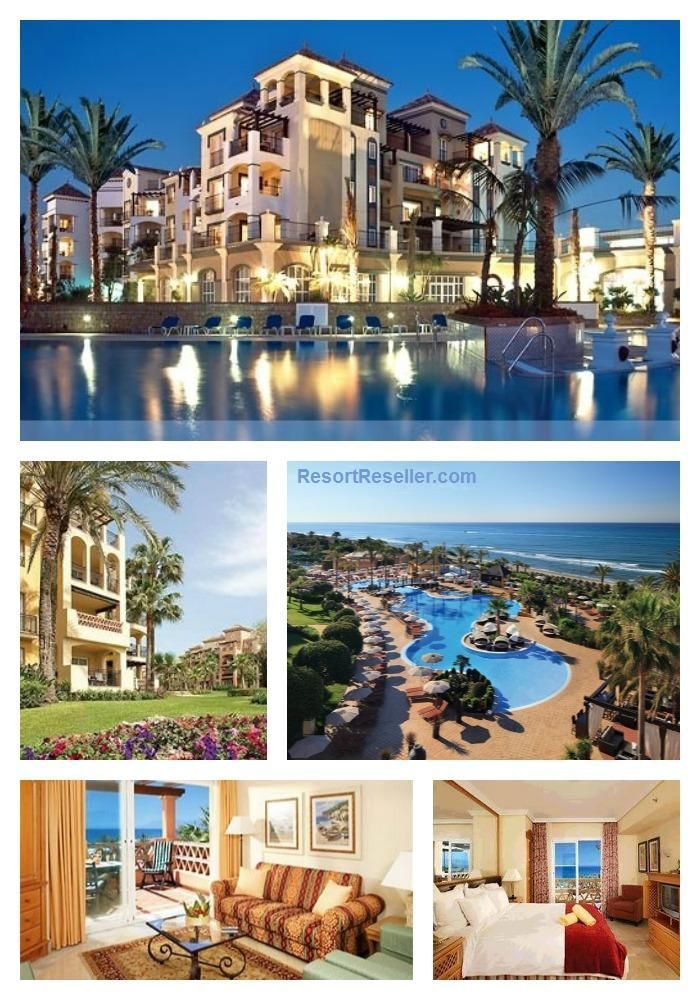 Marriott S Marbella Beach Club Malage Southern Spain Is A Modern Front Resort