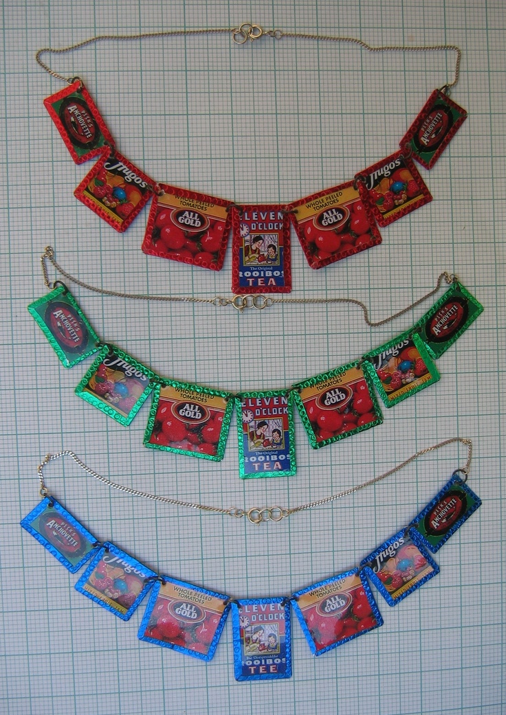 Beverley Price ©  Original Brand Necklaces in colour