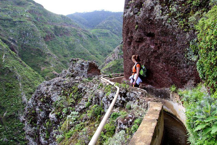 Hiking in the Anaga Mountains, Punta del Hidalgo, Tenerife
