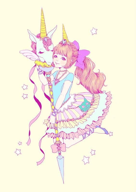 ❤ Princessa unicornio Kawaii ❤