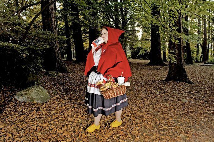 Red Riding Hood - Fallen Princess of Dina Goldstein
