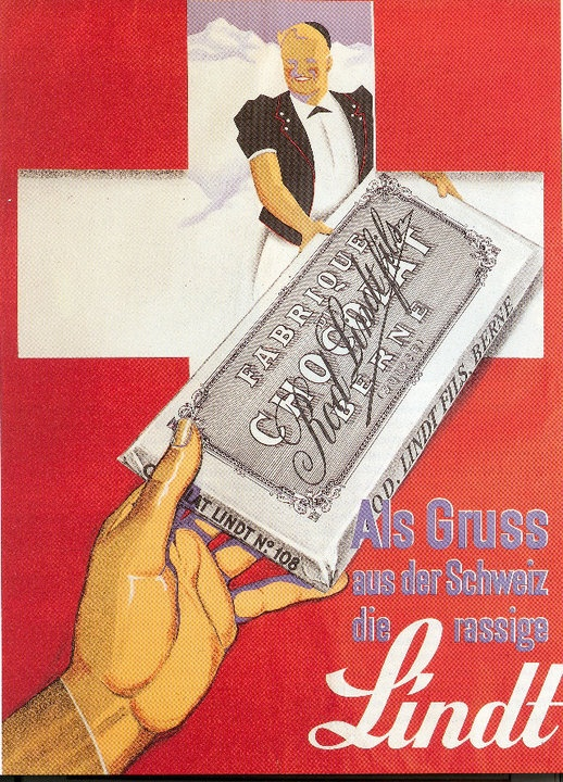 Lindt Chocolate - Switzerland - Circa 1930