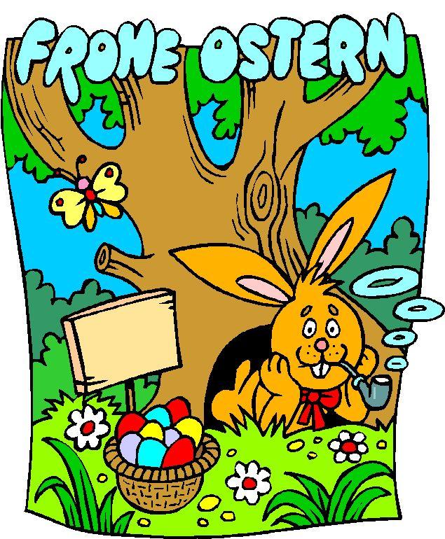 Der Osterhase hat über Nacht uns viele bunte Eier gebracht!