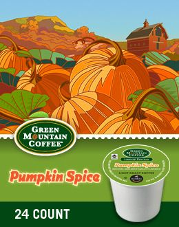 Pumpkin Spice K-Cup Coffee is coming back for the fall!