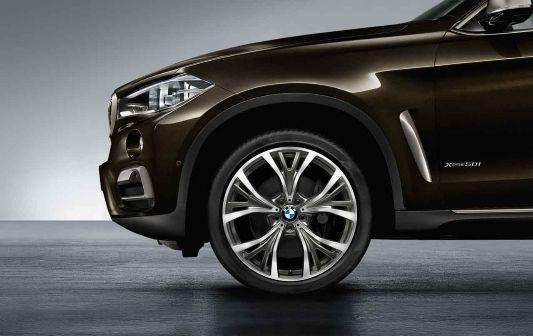 BMW X6 (F16), 21'', light-alloy wheel Y-spoke 627