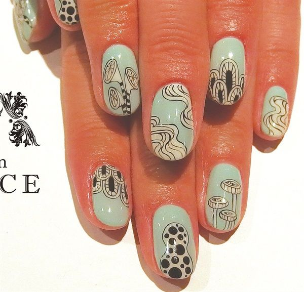 marathon Tokyo share Shimoda  www nailsmag com Kayo Salon my run Nails womens Avarice  Nail by