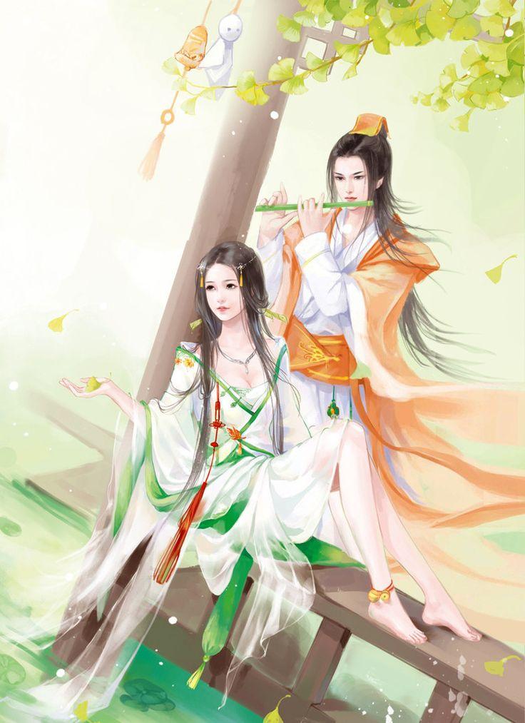 【古韵:古风插画之蝶恋飞】 - 冰偌 - 音画 图文 素材 博客