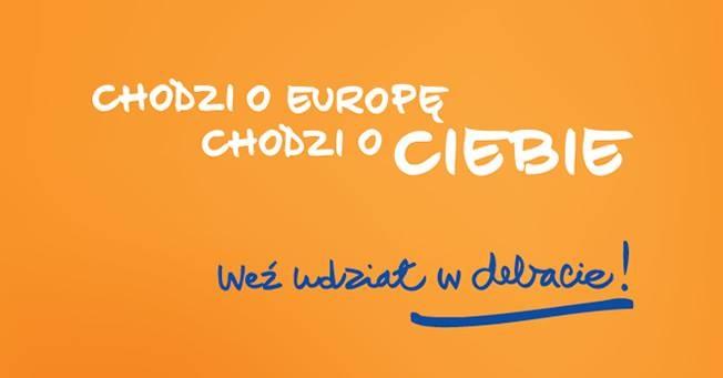 Dokładnie za miesiąc, 11 lipca - Dialog Obywatelski o przyszłości UE. Spotkanie José Manuela Barroso, Viviane Reding oraz Róży Thun z obywatelami UE.  Tematy: kryzys, prawa obywateli i przyszłość Europy. Impreza odbędzie się w Centrum Nauki Kopernik w Warszawie, o godz. 14.30. Moderatorem debaty będzie Michał Adamczyk (TVP). Zapraszamy Was do udziału!