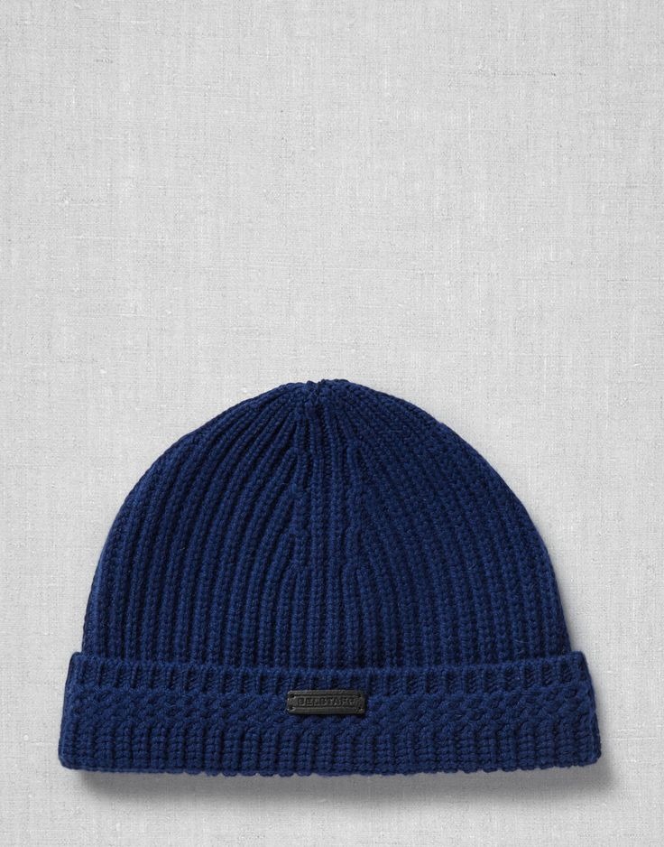 Aldergrove Hat - Bright Navy Wool