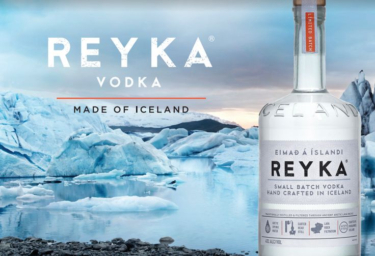 Award-Winning Reyka Vodka From Iceland Is Now Available in South Africa
