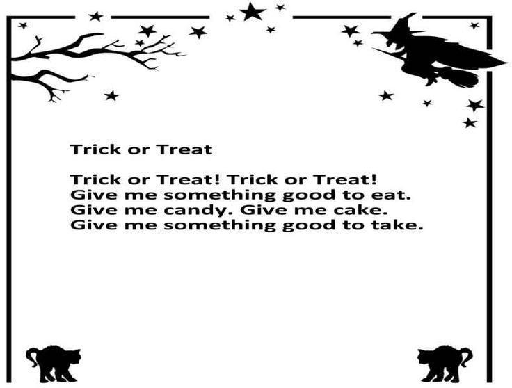 halloween poems - Good Halloween Poems