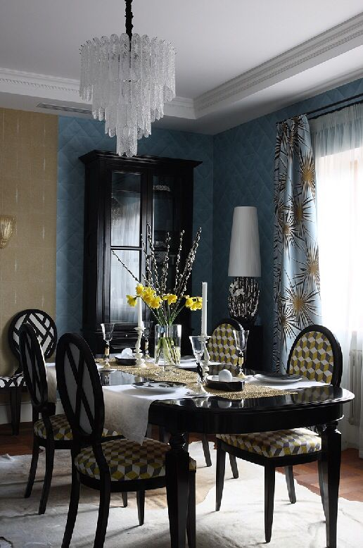 Residential interior. Country house, Moscow  Designer : Yana Roberts