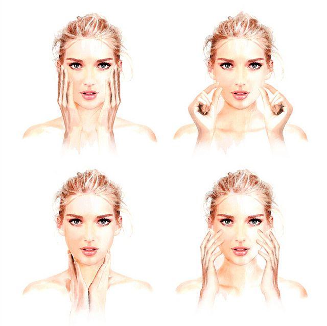 Consejos de belleza: Quítate años de encima al aplicarte tu crema Revista Clara número de septiembre 2016 Ilustraciones Clara - Belleza de Luis Tinoco