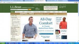 bean #ecommercewebsite design