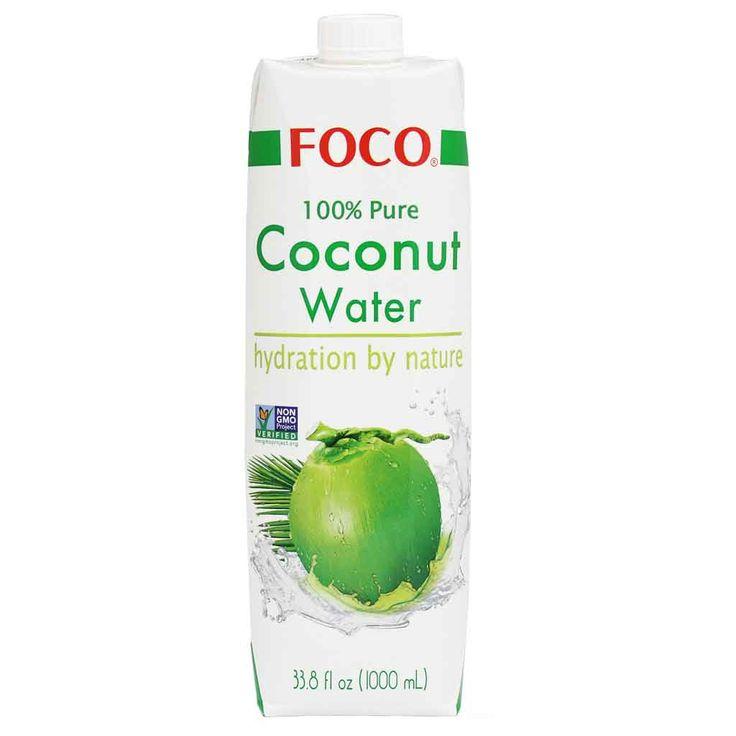 Foco 100% Pure Coconut Water 33.8 fl oz