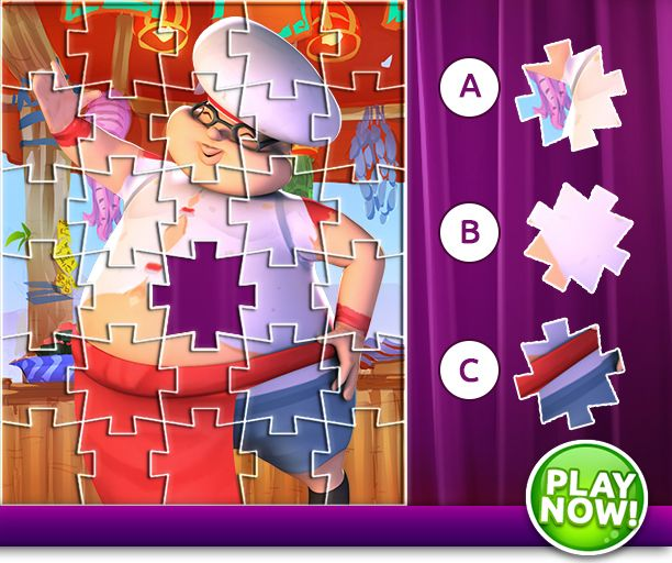 ☆ ★ ☆ STOP... It's Puzzle Time ☆ ★ ☆  Can you spot the missing piece in our little Kookie Kaper's Puzzle!   Comment your answer below: