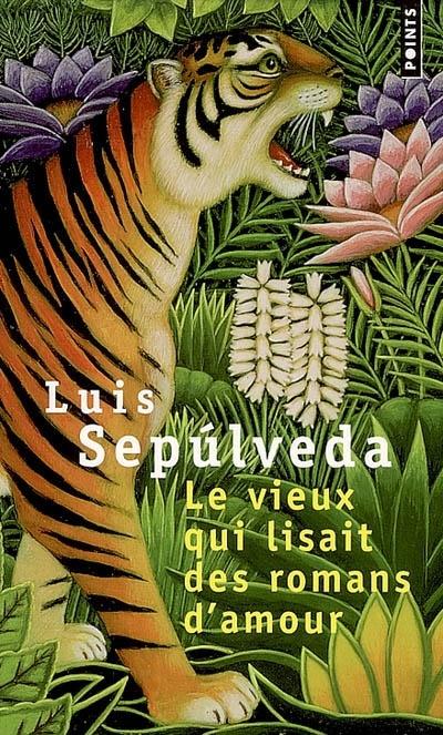 Le vieux qui lisait des romans d'amour. ; Luis Sepulveda. - Au bord de l'Amazone, le vieux, ami des Indiens Shuars, a appris à vivre et à chasser dans la forêt vierge en respectant les créatures qui la peuplent. Mais il a également découvert sur le tard l'antidote au venin de la vieillesse : sa passion pour les romans d'amour, ceux qui font souffrir. Au travers d'un conte, c'est un hymne à une population dont la survie est menacée.