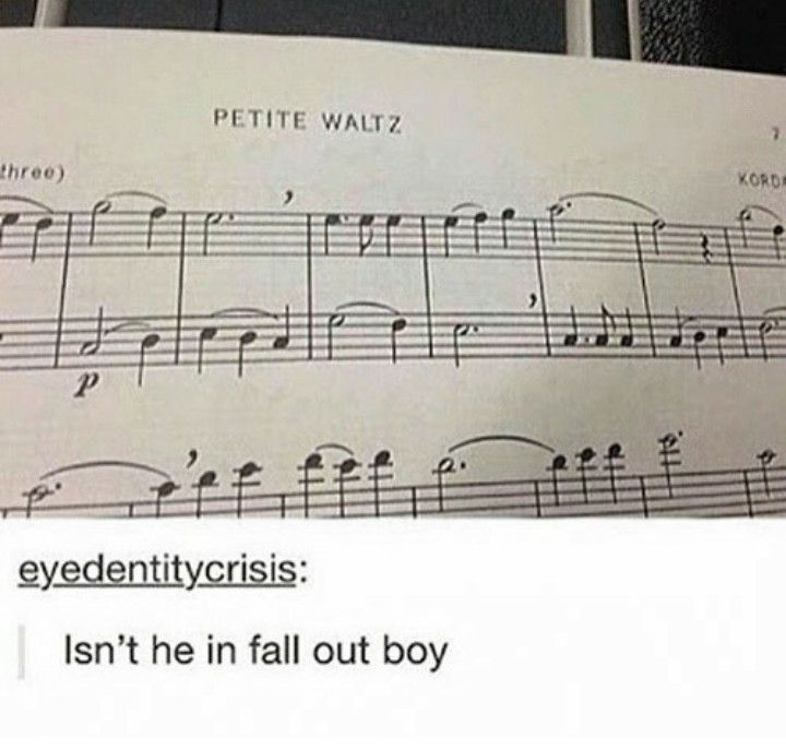 I read that as Pete Wentz then I was like wait why does it look longer than before then I re read it and was like I need to get my eyes checked
